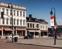 Brock Street från stadshus Royaltyfria Bilder