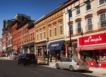 Brock Street, Kingston, Ontario Stock Images