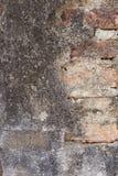 Brocken Backsteinmauer Lizenzfreie Stockbilder