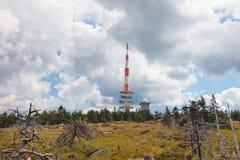 Brocken Berg in Harz, Duitsland Royalty-vrije Stock Foto