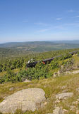 Brocken Railway on Brocken Mountain,Germany Royalty Free Stock Photography