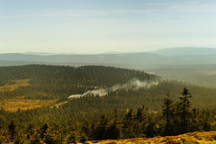 The Brocken Railway Line Royalty Free Stock Photography