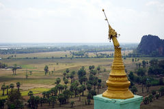 Brocken stupa royalty free stock photos
