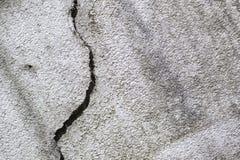 Brocken vägg Arkivfoton
