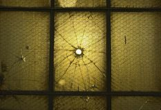 Brocken Window Royalty Free Stock Photography