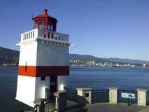 Brockton Point Lighthouse Stanley Park Stock Photos