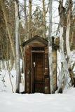 brockway outhouse Стоковая Фотография