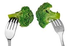 brocoli de Chin-menton Image libre de droits