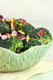 Salade de brocoli Images libres de droits
