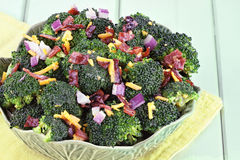 Salade de brocoli Photographie stock libre de droits