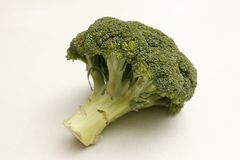 Brocoli. Isolated on a kitchen bench Royalty Free Stock Image