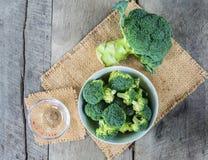 Brocoli para la comida sana Fotos de archivo