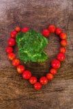 Brocoli sain de nourriture Photographie stock libre de droits