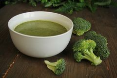 Brocoli soup Stock Photo