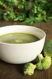 Brocoli soup Stock Image