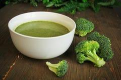 Brocoli soup Royaltyfri Fotografi