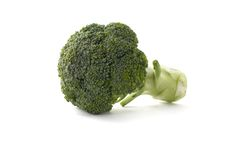 Brocoli on white background Stock Photos