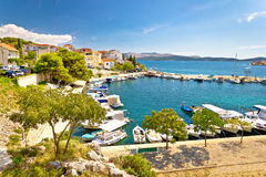 Brodarica village on Adriatic sea Stock Images