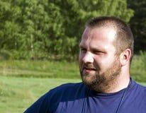 brodaty człowiek portret Fotografia Royalty Free