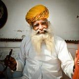 brodaty indyjski mężczyzna Zdjęcia Royalty Free