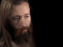 brodaty mężczyzna Zdjęcia Royalty Free
