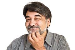 brodaty mężczyzna Fotografia Royalty Free