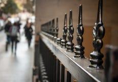 Broddat staket Royaltyfri Fotografi