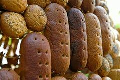 Broden van brood Stock Afbeelding