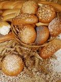 Broden van gebakken brood Stock Afbeelding