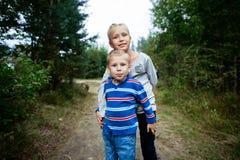 Broder And Sister Arkivbild