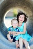 Broder And Sister Love Arkivbild