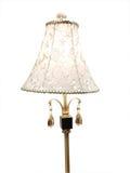 broderad lampshadepink Royaltyfri Fotografi