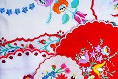 broderia Hafciarska ręcznie robiony makaty studia fotografia Hafciarski ręki pracy hobby broidery woolwork Piękny hobby Obraz Royalty Free
