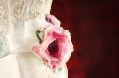 Broderia i róże Fotografia Stock