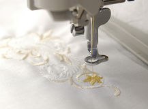 Broderie Image stock