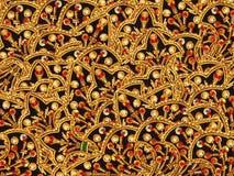 Broderie orientale Image libre de droits