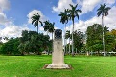 Broderskap parkerar - havannacigarren, Kuba royaltyfri foto