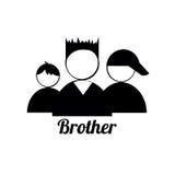 Brodersymboler Arkivbild