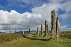 Brodgar circle Stock Image