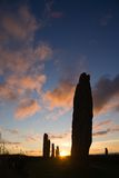 Brodgar five Stock Photography