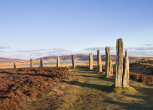 Free Brodgar In Late Afternoon Royalty Free Stock Image - 30312626