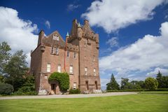 Brodick castle royalty free stock image