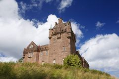 Brodick castle. In Arran on a summer day stock images