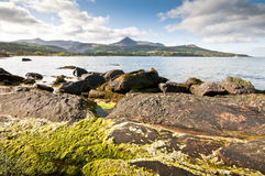 Brodick to Goatfell Royalty Free Stock Image