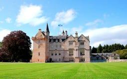 brodie城堡苏格兰 免版税库存图片