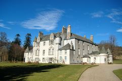 Brodie Castle, Scottish Historic Home Royalty Free Stock Photo