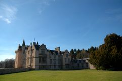 Brodie Castle in Spring Royalty Free Stock Images