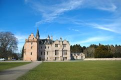 Brodie Castle in Spring Royalty Free Stock Photography