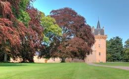 Brodie Schloss, Schottland Stockfotografie