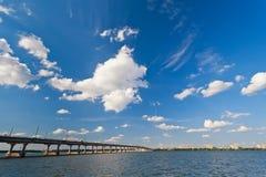 brodnieperflod Royaltyfri Fotografi